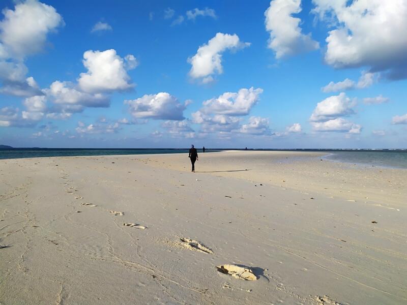 pasir putih di gili noko