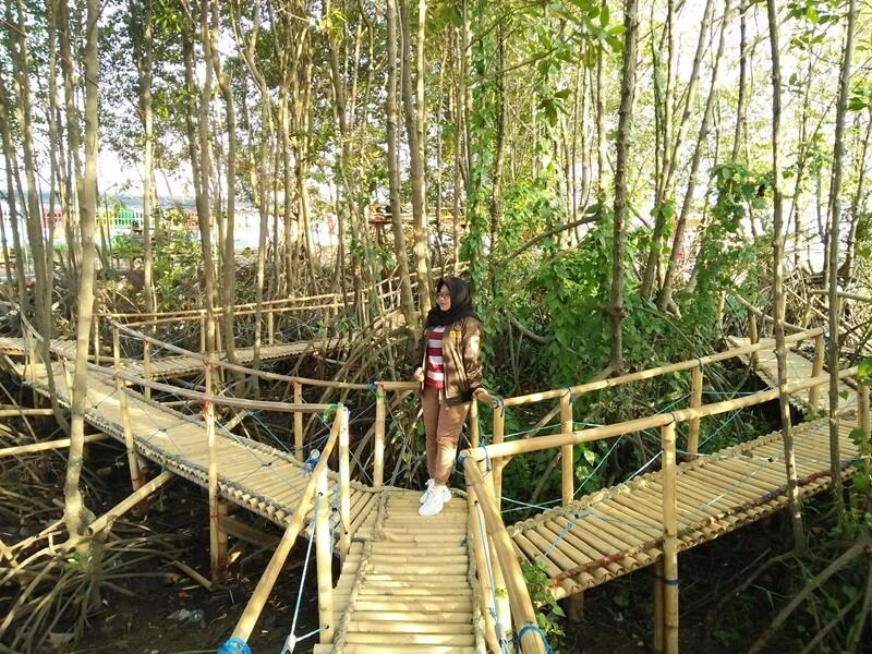 jembatan idola di pantai idola