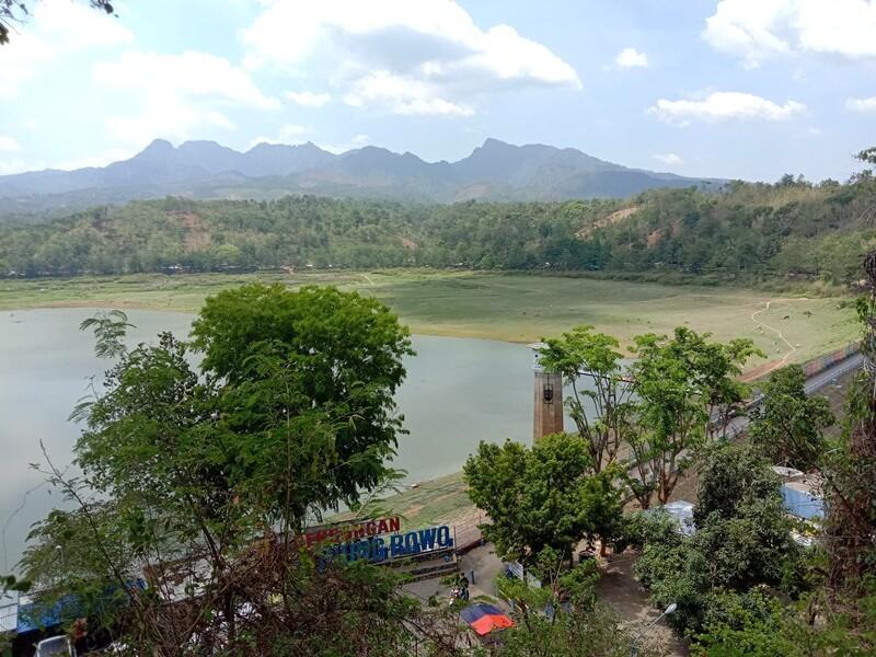 landscape waduk gunung rowo