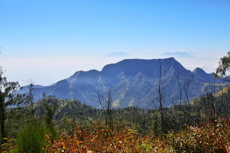 panorama alam pegunungan wilis