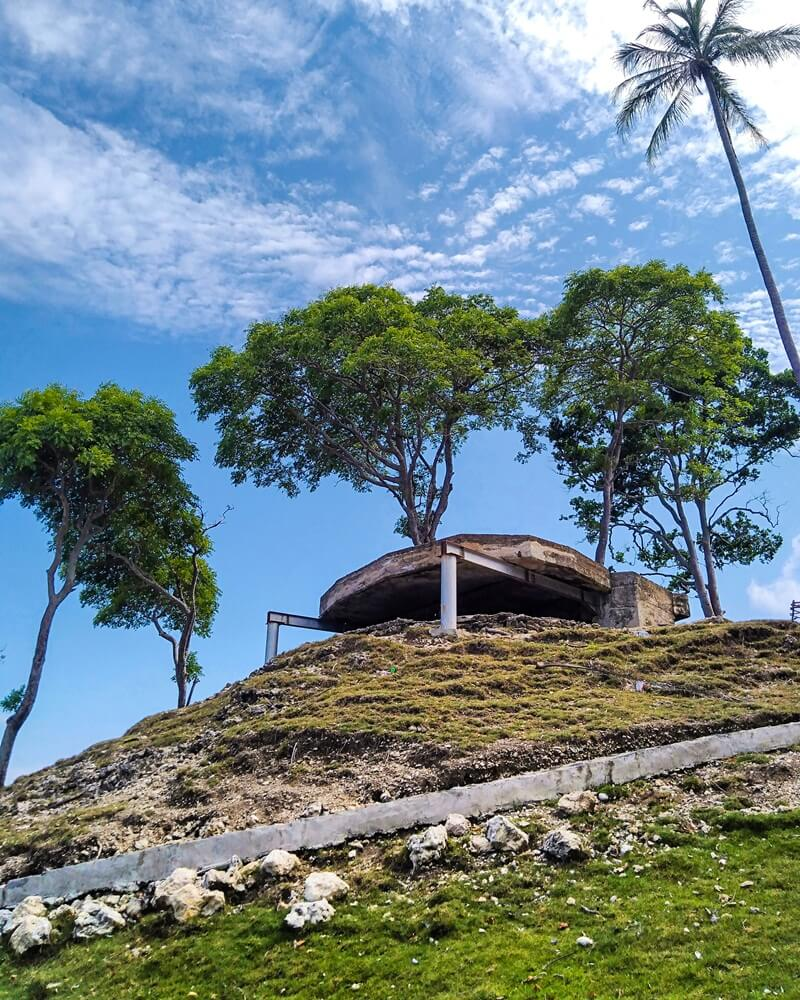 benteng bunker jepang