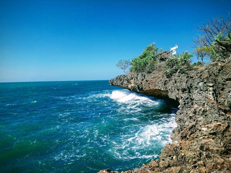 salah satu sudut keindahan di pulau giliyang