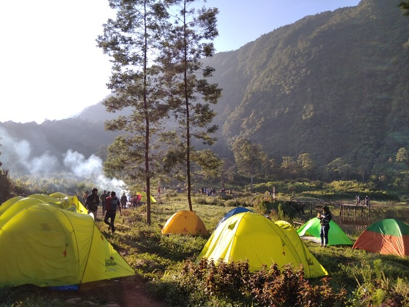 area camping di petungkriyono