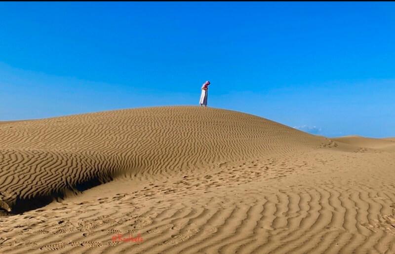 gurun pasir pantai oetune